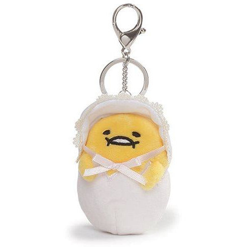 Gudetama Baby 3 1/2-Inch Plush Key Chain