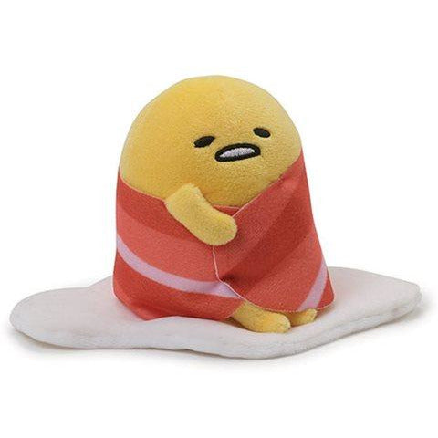 Gudetama Bacon Wrap 4 1/2-Inch Plush