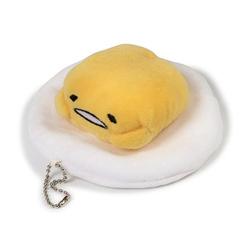 Gudetama Sound 4 1/2-Inch Plush Key Chain