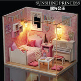 Sunshine Princess DIY Small Dollhouse