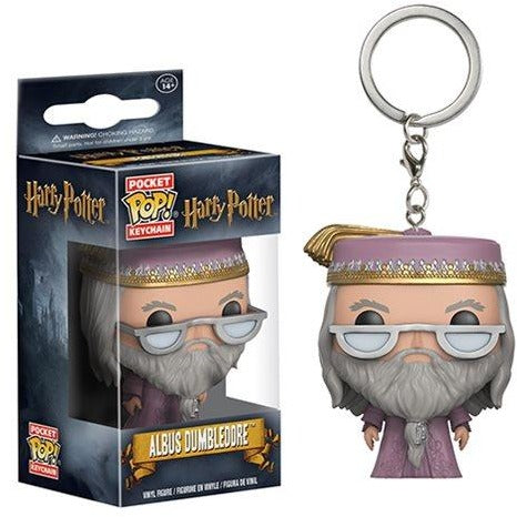Harry Potter Dumbledore Pocket Pop! Vinyl Figure Key Chain