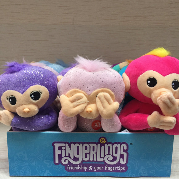 Fingerlings 10-Inch Posable Plush with Sound (sold separately)