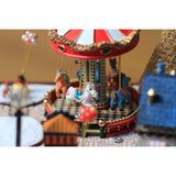 Carousel Happy Garden Happiness Version DIY Music Box Series