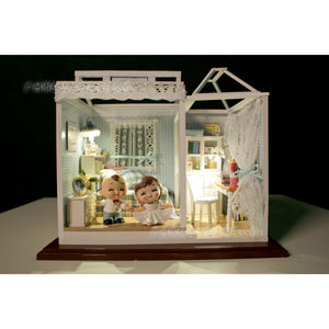 Blue Dream House DIY Miniature Dollhouse