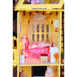 My Little House Yellow DIY Miniature Dollhouse