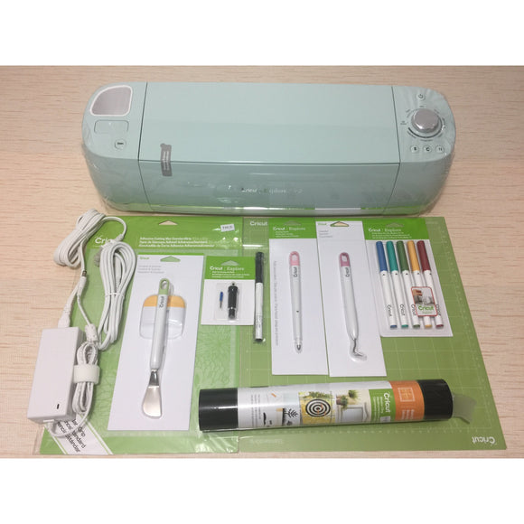 Cricut Explore Air™ 2 Mint Machine + Essentials Bundle Set