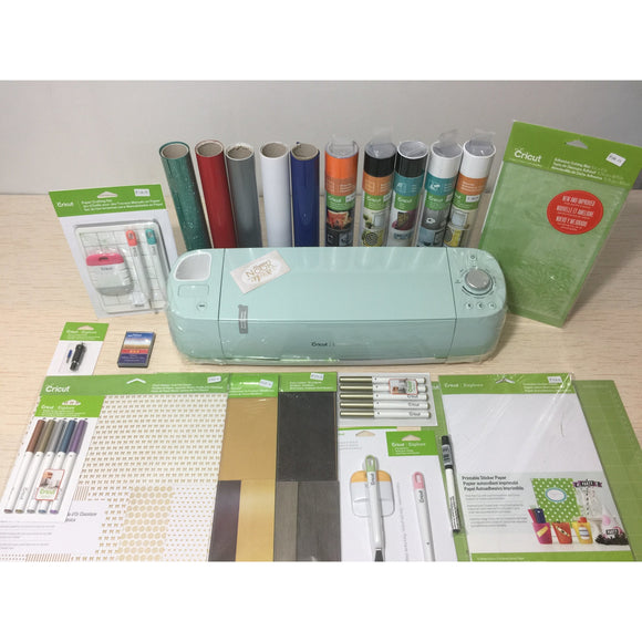 Cricut Explore Air™ 2 Mint Machine + EVERYTHING Starter Set