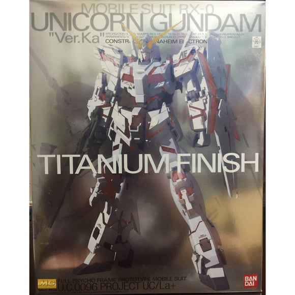MG Unicorn Gundam Titanium Finish