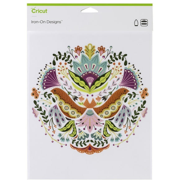 Cricut® Iron-On Designs™ Floral Mandala