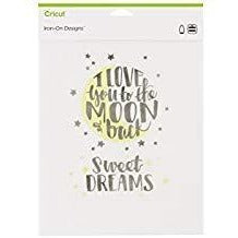 Cricut® Iron-On Designs™ I Love You to the Moon
