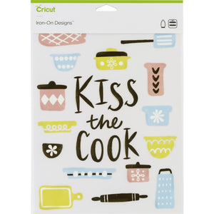 Cricut® Iron-On Designs™ Kiss The Cook