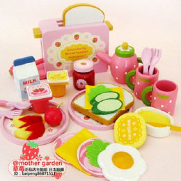 Mother Garden Wild Strawberry Bread Toaster Set (FOR PRE-ORDER ONLY)