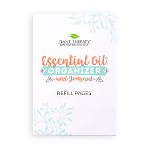 Plant Therapy Essential Oil Organizer and Journal Refill