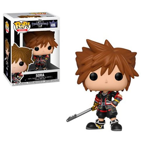 Kingdom Hearts 3 Sora Pop! Vinyl Figure #406