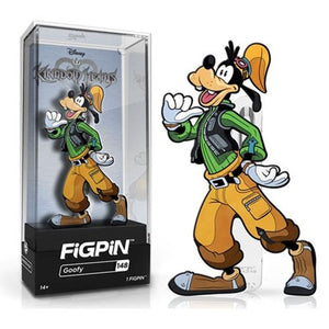 Kingdom Hearts Goofy FiGPiN Enamel Pin