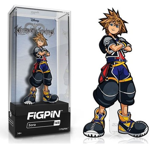 Kingdom Hearts Sora FiGPiN Enamel Pin