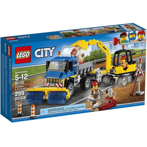 LEGO City Great Vehicles Sweeper & Excavator (60152)