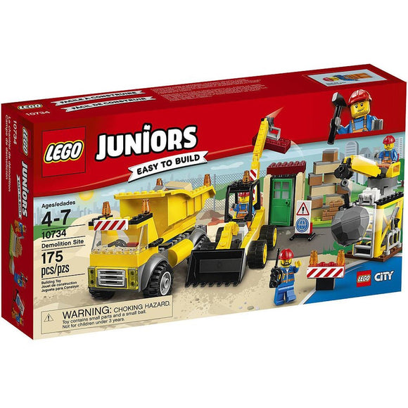 LEGO Juniors Demolition Site (10734)