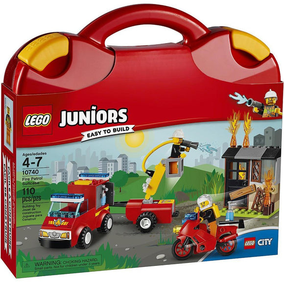 LEGO Juniors Fire Patrol Suitcase (10740)
