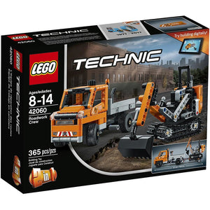 LEGO Technic Roadwork Crew (42060)