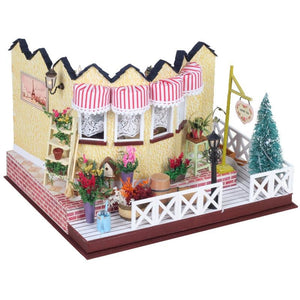 Vanilla Milk Tea Shop DIY Miniature Dollhouse