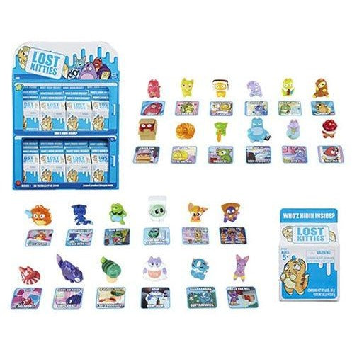 Lost Kitties Blind Box Mini-Figures Wave 1
