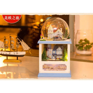 Northern Europe DIY Miniature Dollhouse