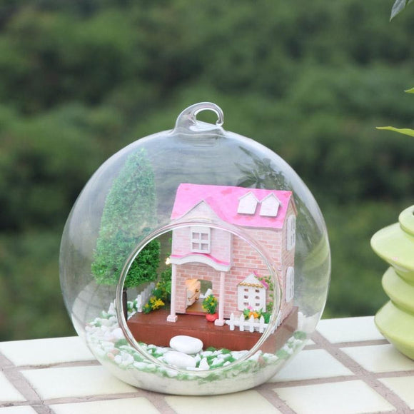 Pink Sweetheart DIY Glass Ball House Series