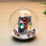 Merry Christmas DIY Glass Ball House Series