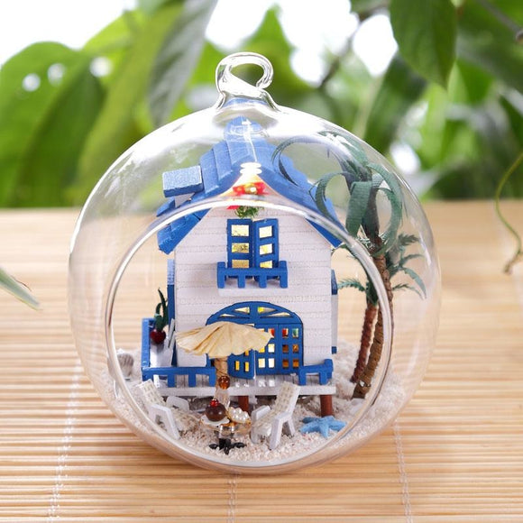Mini Aegean DIY Glass Ball House Series
