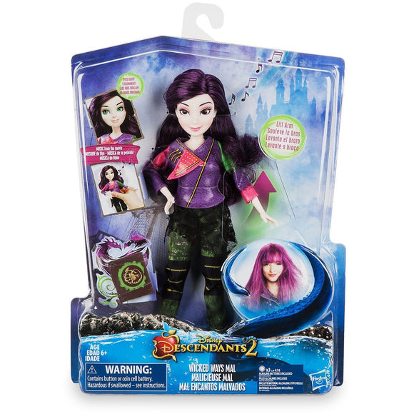 Mal ''Wicked Ways'' Doll - Descendants 2 - 11''