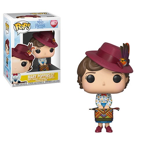 Mary Poppins Returns Mary with Skirt Bag Pop! Vinyl Figure #467