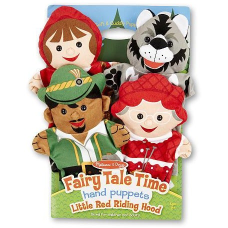 Melissa & Doug Fairy Tale Friends Hand Puppets (Set of 4)