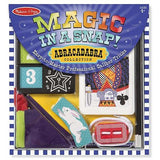 Melissa & Doug Magic in a Snap! Abracadabra Collection Magic Tricks Set (10 pieces)