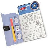 Melissa & Doug On the Go Secret Decoder Spy Game Activity Book