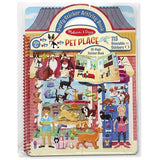 Melissa & Doug Puffy Sticker Activity Book - Pet Place