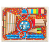 Melissa and Doug Band-in-a-Box Chime! Whistle! Jingle!