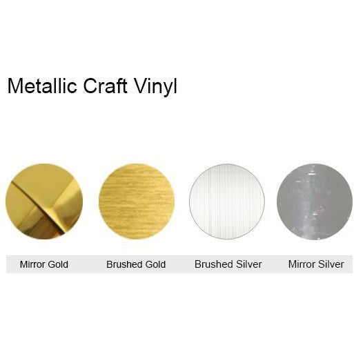 Metallic Craft Vinyl Sticker Generic