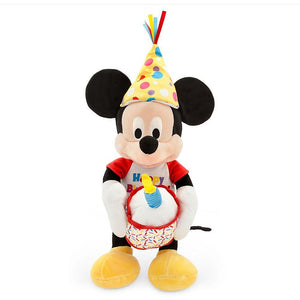 Mickey Mouse Happy Birthday Musical Plush - Medium - 13''