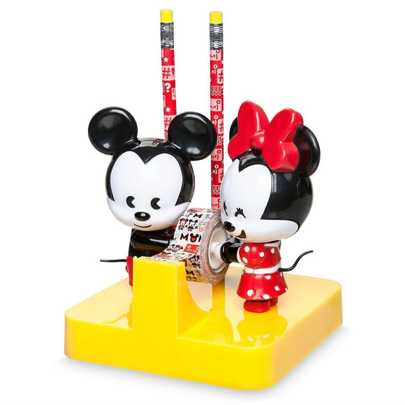 Mickey and Minnie Mouse MXYZ Desk Accessory Set
