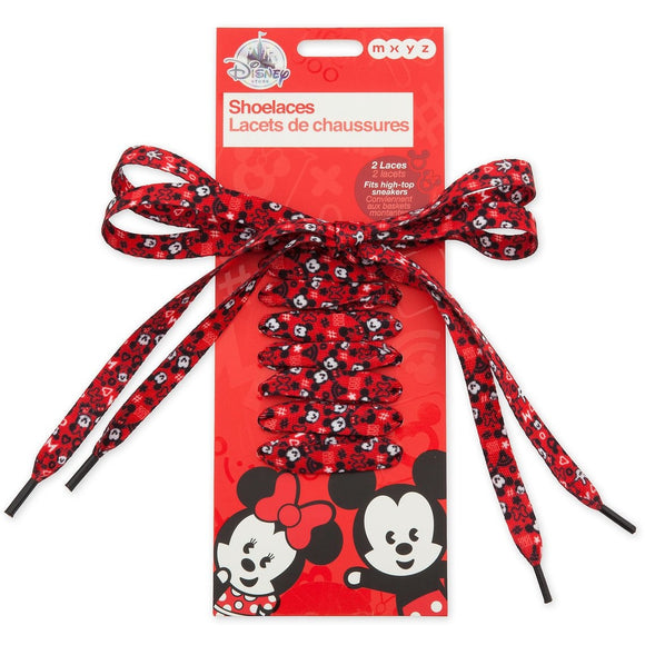 Mickey and Minnie Mouse MXYZ Shoelaces