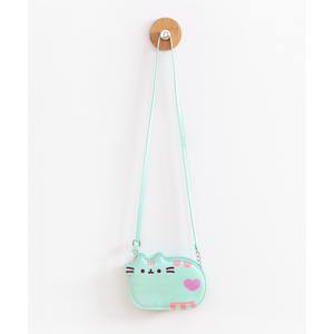 Mint Pastel Pusheen Crossbody Purse