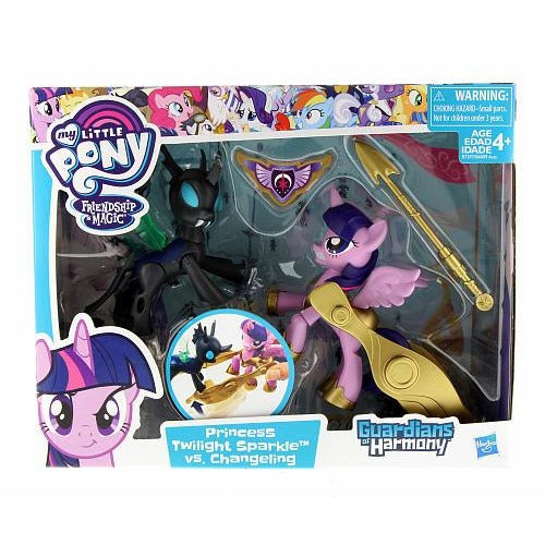 My Little Pony Guardians of Harmony Princess Twilight Sparkle vs Changeling Dolls - Black-Purple