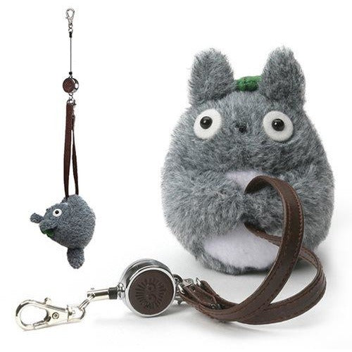 My Neighbor Totoro Totoro Handbag Reel Key Holder
