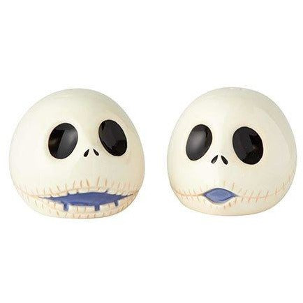 Nightmare Before Christmas Jack Skellington Head Salt and Pepper Shaker Set