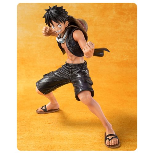One Piece Film Gold Monkey D. Luffy Figuarts ZERO Statue