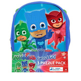 PJ Masks Jigsaw Puzzles Backpack 24 Piece