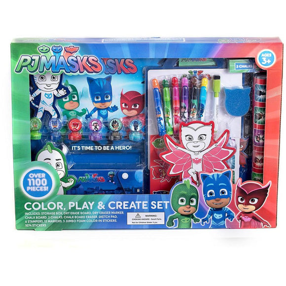 PJ Masks Color Play and Create Set
