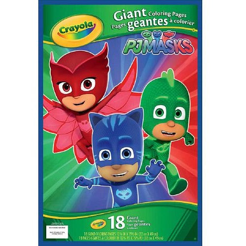 PJ Masks Giant Coloring Pages