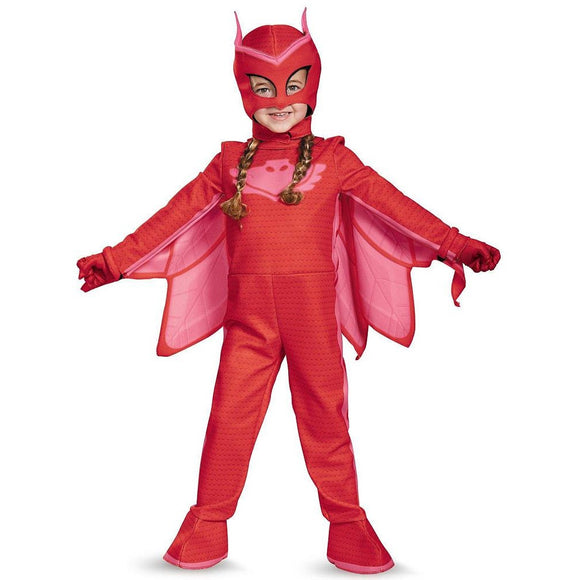 PJ Masks Owlette Deluxe Costume  Toddler Child
